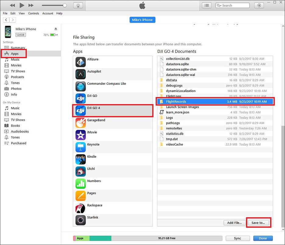 HOW TO: Retrieve DJI Phantom Flight Logs from an Apple Device