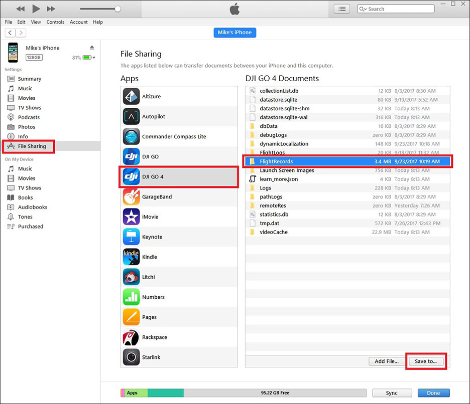 HOW TO: Retrieve DJI Phantom Flight Logs from an Apple